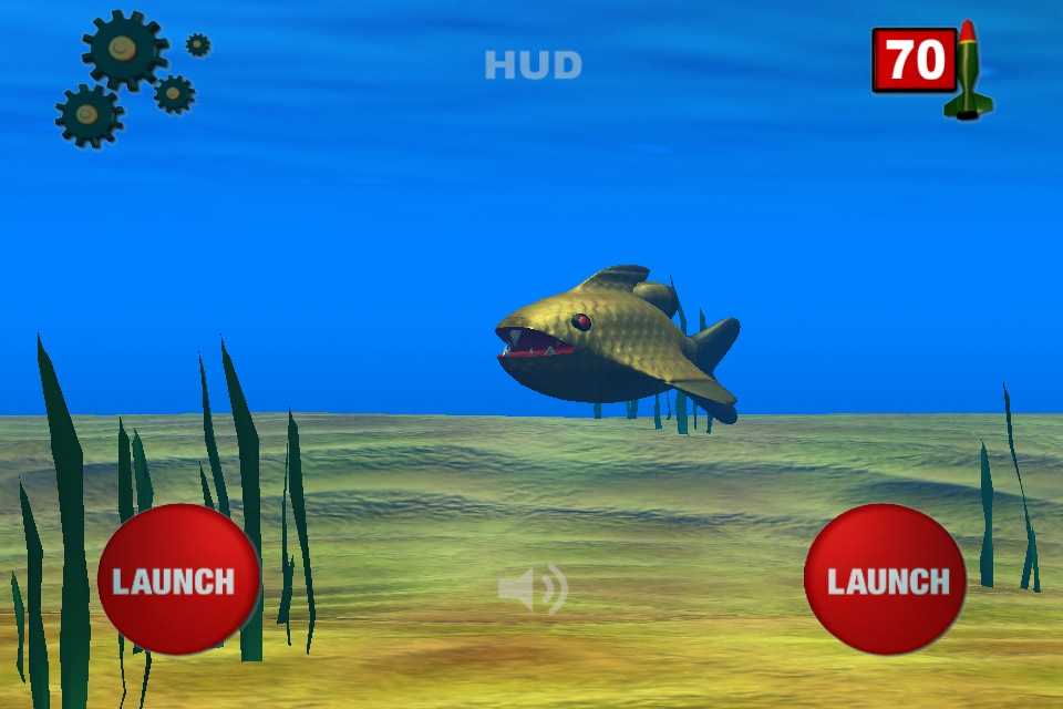 Screenshot Cyberfish-Terminator for iPad